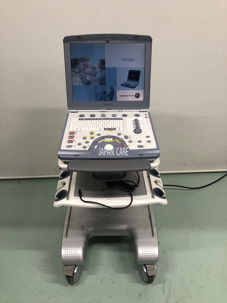 GE Hi-spec Cardiac Ultrasound Vivid i with one sector